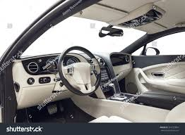 bentley inside car inside driver place interior prestige stock photo 374122894