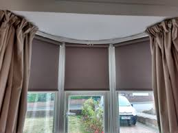 curtains and blinds for bay windows dressing bay windows natural