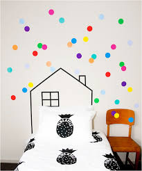 Stunning Polka Dot Wall Decals For Kids Rooms Photos Home - Polka dot wall decals for kids rooms