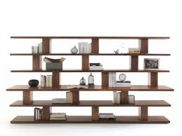 Wood Bookshelves by Cabinet U0026 Storage Stylish Solid Wood Bookcase Unique Design 6 Open