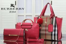 Berapa Tas Burberry Asli trend model tas burberry tuvvy 3in1 set clutch 8131ar terbaru http