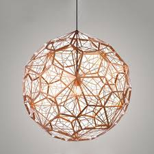 Copper Chandeliers Fashion Style Modern Contemporary Copper Pendant Chandeliers