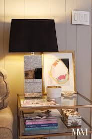 monica wants it a lifestyle blog diy black painted lampshade
