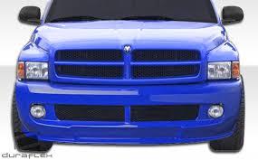custom front bumpers for dodge trucks 94 01 dodge ram srt look duraflex front kit bumper 105995 ebay