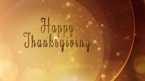 golden happy thanksgiving leaf reveal stock footage 60805292