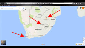 Southern Africa Map Quiz by South Africa U0027s 3 Capitals Youtube