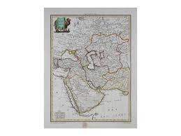 map asie west asia antique map asie occidentale malte brun 1812 ebay
