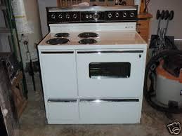 Ge Electric Cooktops Vintage Ge Hotpoint Range Stove Mind Cond 1969 W Hood Vintage