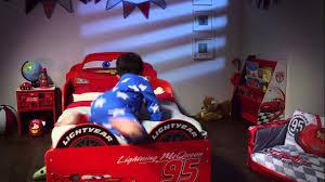 Cars Toddler Bedroom Set Hellohome Lightning Mcqueen Snuggletime Toddler Bed Youtube