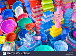 plastic ware roadside stall selling plastic ware new market dhaka