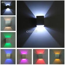 Led Wall Sconce Fixtures with Discount Aluminum Wall Light Colorful Indoor Light Led Wall Lamp