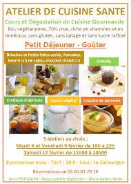 affiche atelier cuisine office de tourisme de la canourgue atelier cuisine office de