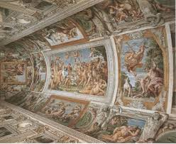 Ceiling Art The Loves Of The Gods Wikipedia
