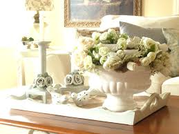 white coffee table decorating ideas furniture coffee table decor idea with christmas centerpiece