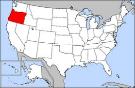 map usa oregon oregon facts for children a to z stuff