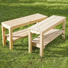 furniture fill your garden space with wooden bench plans u2014 claim