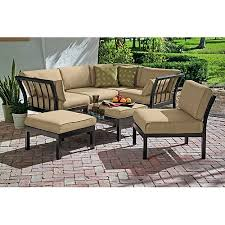 Outdoor Sectional Sofa Mainstays Ragan Meadow Ii 7 Piece Outdoor Sectional Sofa Seats 5