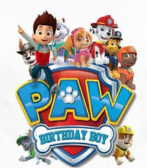 birthday boy paw patrol birthday boy shirt iron on transfer ebay