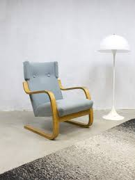 Armchair 406 Model 401 Lounge Chair By Alvar Aalto For Artek 1960s For Sale At