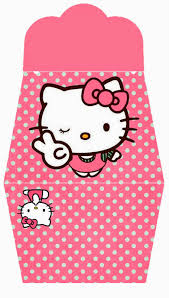 hello kitty in pink free printable purse invitations is it for