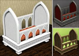 Gothic Baby Cribs by Parsimonious The Sims 3 Furniture