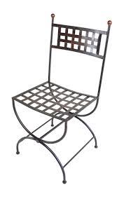 chaises en fer forg chaise en fer forgé lacoste mobilier en fer forgé aix montpellier