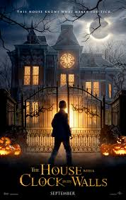 the house with a clock in its walls trailer ticks away