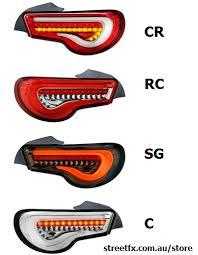 Valenti Lights Streetfx Motorsport And Graphics U2013 U201csg U201d Valenti Smoked Led Tail