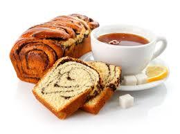 wallpaper tea cup bread poppy breakfast sugar lemon