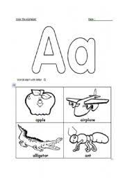 letter a recognition worksheets free worksheets library download