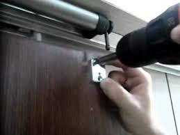 Patio Door Closer Slide Back Sliding Door Closer Installation