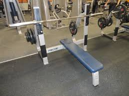 Nautilus Bench Midwest Used Fitness Equipment Precor Icarian Olympic Bench