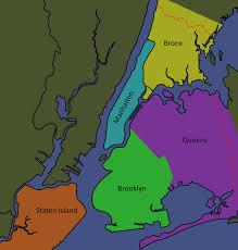Brooklyn Ny Map Ny Map Boroughs By Drieka On Deviantart
