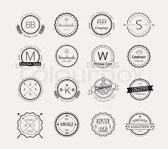 design a vintage logo free abstract vector vintage logo design elements set arrows labels