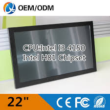 ecran tactile pc bureau ordinateur de bureau 22 écran tactile pc résolution 1680x1050 avec