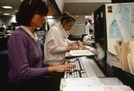 Chicago Tribune News Desk Chicago Tribune 1970s And 1980s Newsroom History