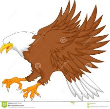eagle cartoon vector illustration cartoondealer com 43490774