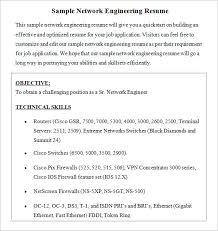 Manual Testing Fresher Resume Samples Professional Cv Format For Network Engineer