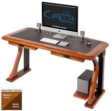 Stylish Computer Desk Artistic Computer Desk Full Caretta Workspace
