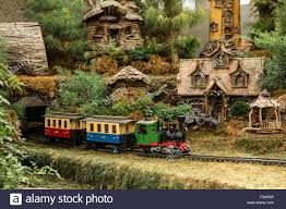 garden railroad in the franklin park conservatory and botanical