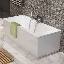 P Baths 1700mm Straight Baths