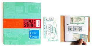 ticket stub album ticket stub diary cool material