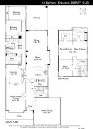 balmoral floor plan 13 balmoral crescent surrey hills marshall white