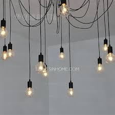 Creative Lighting Fixtures Pendant Lighting Bar Discount Loft Industrial Style Iron Cages