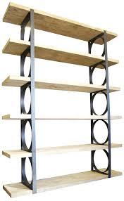 wall mounted metal shelving wood and metal shelves u2013 appalachianstorm com