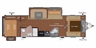 Keystone Rv Floor Plans 2012 Keystone Rv Hideout Series M 29 Bhs Specs And Standard