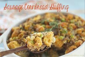 thanksgiving sausage dressing cornbread and sausage stuffing recipe u2014 dishmaps