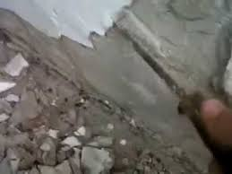 Parge Basement Walls by How To Replace Cement Parging Youtube