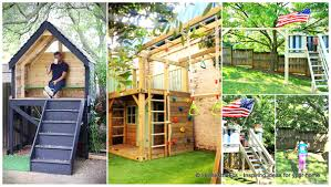 backyards modern diy fort plans step by instructions for you to
