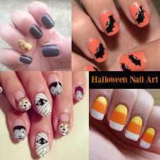 nail art 33 rare holloween nail art images concept easy
